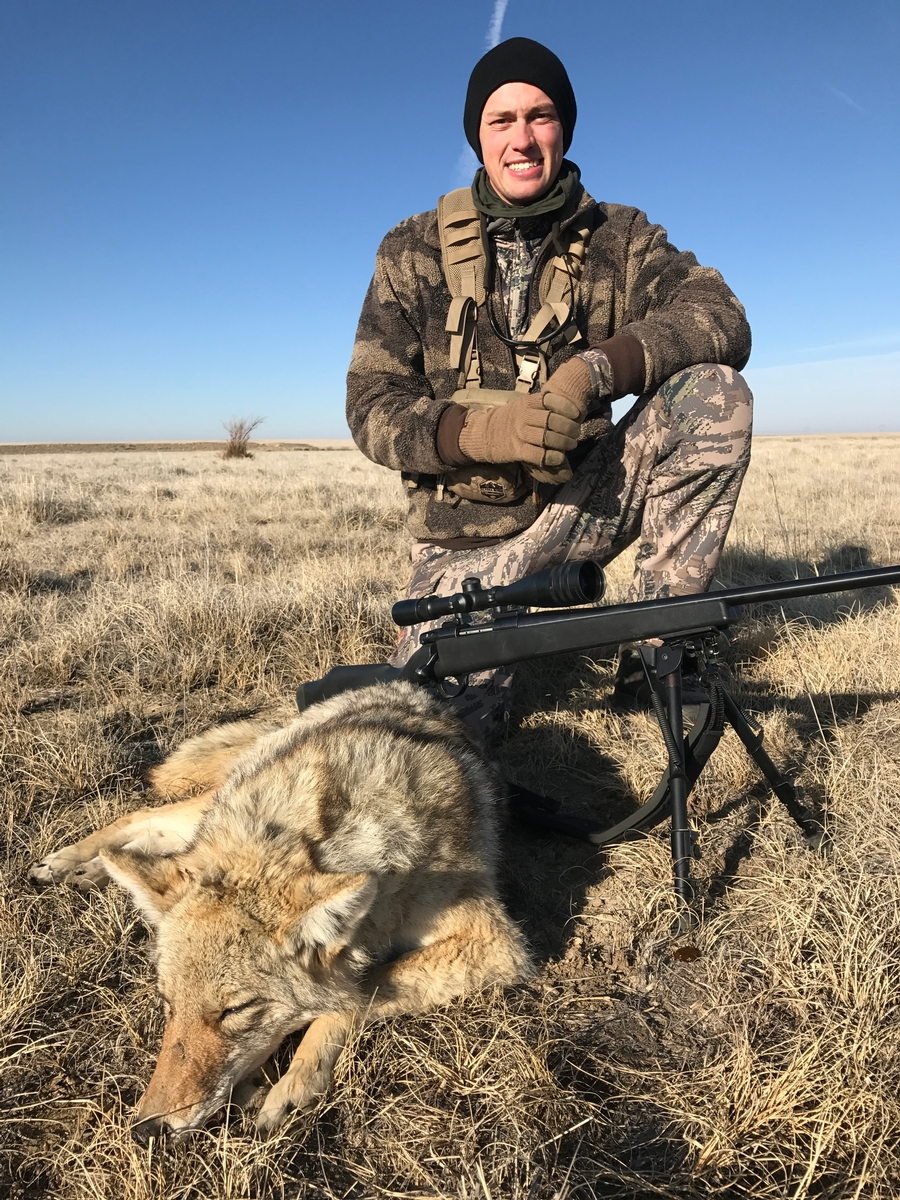 Coyote hunting school