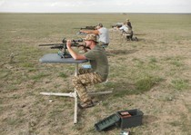 Shooting prairie dogs out at the ranch 2012